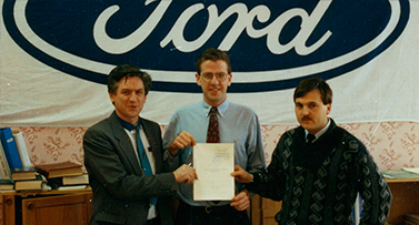 "The company ""Winner"" has obtained an official status of dealer of Ford Motor co. in Ukraine,"