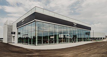 The largest Bentley concept dealership in Europe is officially opened,